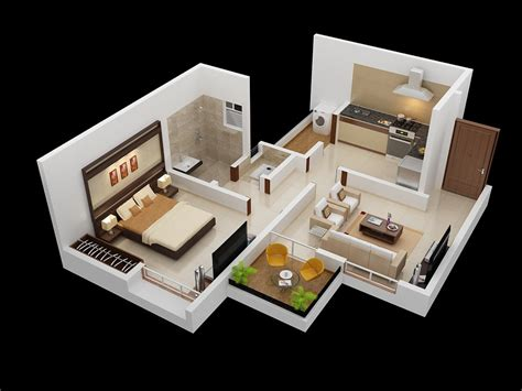 25 One Bedroom Houseapartment Plans by Cool Simple One Bedroom House Plans New Home Plans Design