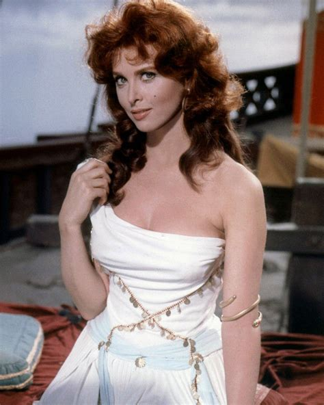 TINA LOUISE SEXY BUSTY WHITE OFF-SHOULDER PHOTO OR POSTER ...