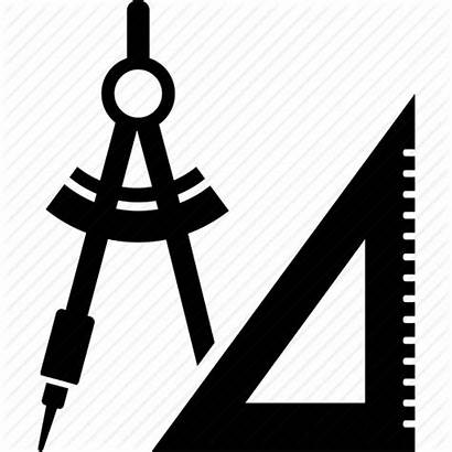 Icon Drawing Architect Technical Drawings Architecture Clipart