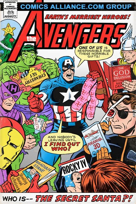 perfect gift for comic book fan great comics that never happened the avengers in who is