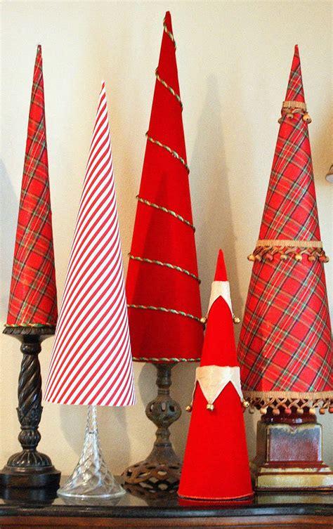 elegant christmas tree cones allfreeholidaycraftscom