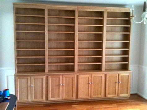 Custom Stand Alone Cherry Bookcases By The Plane Edge, Llc