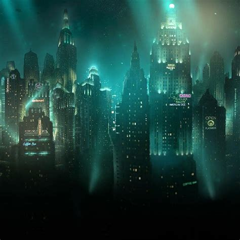 bioshock underwater city wallpaper engine