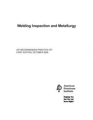 API 510-2006 Pressure Vessel Inspection Code: In-Service