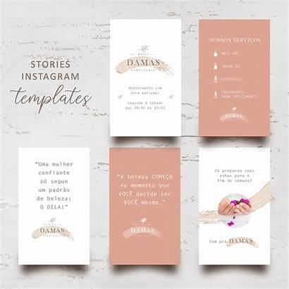 Templates Stories Personalizados Kit Elo7