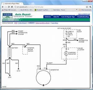 84 Camaro Battery Wire Diagram