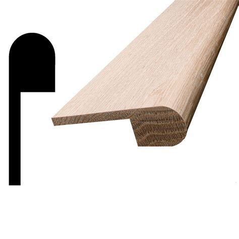 stair nose stair simple hemlock contemporary newel he4416048w the home depot
