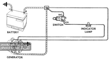 chevy alternator wiring diagram the h a m b