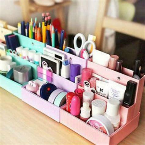 Cute Diy Paper Board Storage Box Desk Decor Stationery