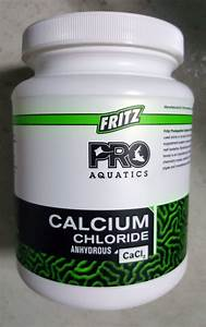 Fritz Pro Calcium Chloride Cacl Reef Supplement