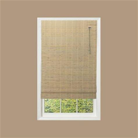 Home Depot Ceiling L Shades by Home Decorators Collection Driftwood Beveled Reed Weave