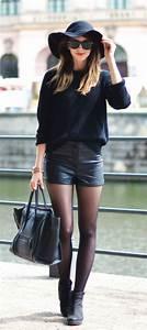 Tenue A La Mode : comment porter la capeline noire 65 id es de tenue ~ Melissatoandfro.com Idées de Décoration