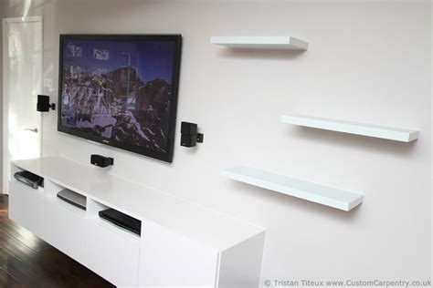 Tv Regal Wand by Fitted Floating Shelves Empatika