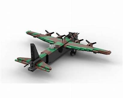 Moc Ww2 Plane Bomber Stirling Short Lego
