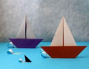 Origami Bateau à Voile : bateau voile nicolas terry ~ Dode.kayakingforconservation.com Idées de Décoration