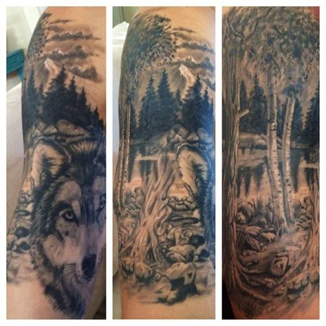 Outdoor Themed Tattoos