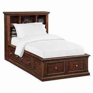 Hanover, Youth, Twin, Bookcase, Bed, With, Storage