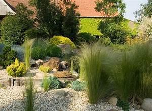 Gravier Pour Jardin : idee deco jardin gravier ~ Premium-room.com Idées de Décoration