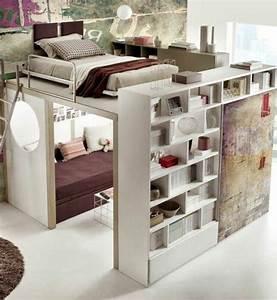 Hochbett Mit Zwei Betten : ber ideen zu hochbett mit schrank auf pinterest schrank selber bauen hochbetten und ~ Whattoseeinmadrid.com Haus und Dekorationen