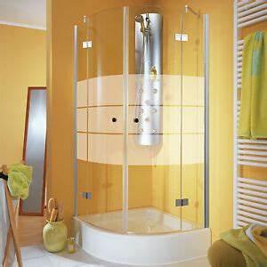 Viertelkreis Duschkabine 80x80 : viertelkreis duschabtrennung duschkabine runddusche esg ~ Watch28wear.com Haus und Dekorationen