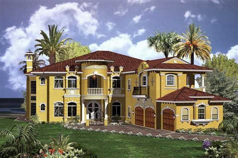large luxury home plans luxury home with 6 bdrms 6714 sq ft house plan 107 1037