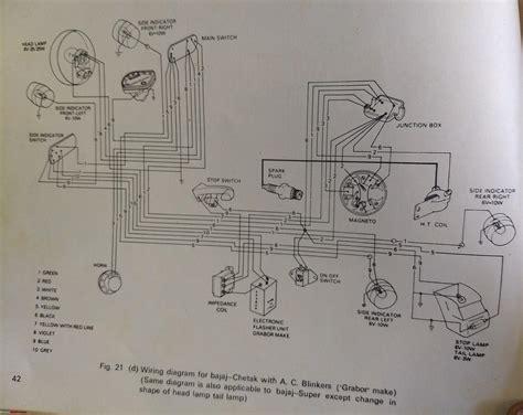 wiring diagrams of two wheelers team bhp