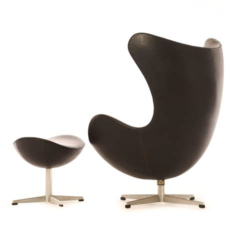 modern egg chair with ottoman for sale at 1stdibs