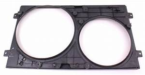 Cooling Fan Shroud Cowl 98-05 Vw Beetle - Genuine