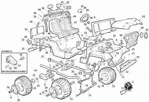 Power Wheels Jeep 4x4 Parts