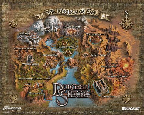 dungeon si鑒e dungeonsiege2 dungeon siege 2 karten
