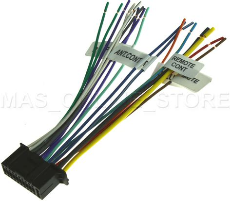 pin wire harness  kenwood ddx dnx dnxex