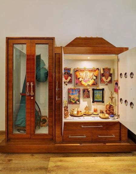 pooja room designs in kitchen small pooja cabinet designs and ideas home makeover 7521