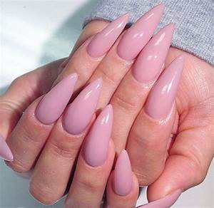 Light Pink Stiletto Nails | www.pixshark.com - Images ...
