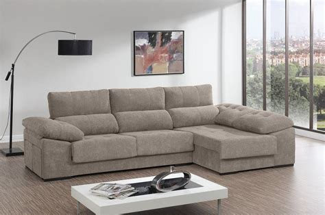Chaise Longue Sofa Bed With Adjustable Seats, Reclining