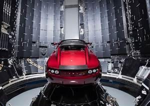 Tesla Dans Lespace : spacex va envoyer une voiture dans l 39 espace juste pour voir ~ Nature-et-papiers.com Idées de Décoration