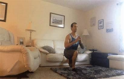 Living Workout Split Squat Active Fitness Challenge