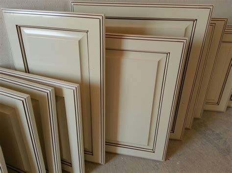 antique white glazed cabinet doors  work great