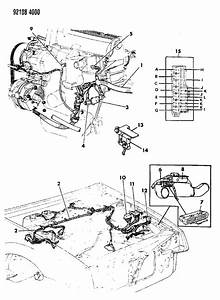 1992 Chrysler Lebaron Gtc Wiring - Engine