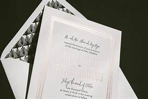 black and rose gold wedding invitations bella figura With black white and rose gold wedding invitations