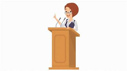 Corporate Woman Ceo Professional Animated Executive Animations