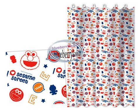Elmo Sesame Street Shower Curtain Bathroom Accessories