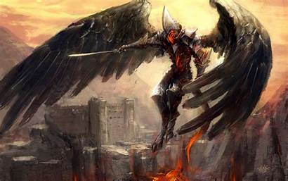 Warrior Wallpapers Angel Fantasy Backgrounds Knight Apocalypse
