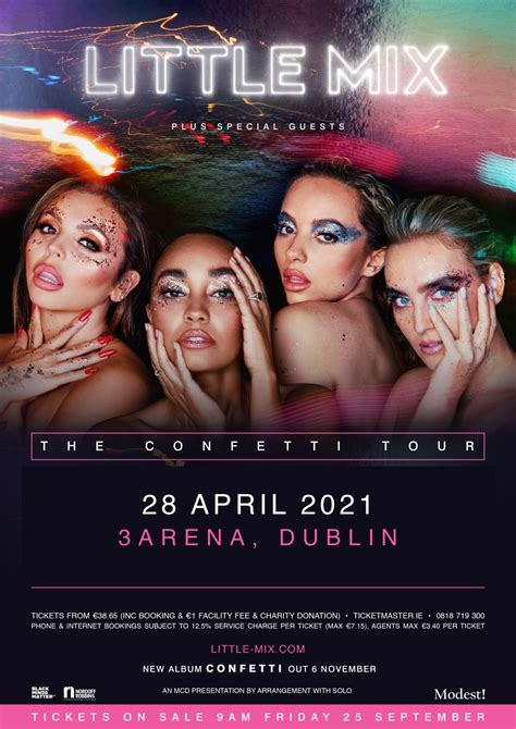 Little Mix Bring Their Confetti Tour To Dublin's 3Arena ...