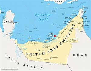 Map United Arab Emirates