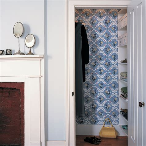 Ideas Leftover Wallpaper Border by Surprising Ways To Use Wallpaper Martha Stewart