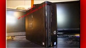 Unboxing Of Hp Slimline Desktop 260-a010