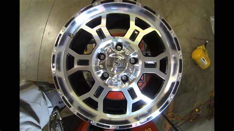 vtec wheels raptor 372 black machined youtube
