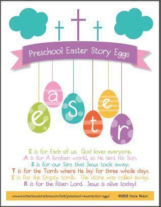 free christian easter story egg 8x10 printable poem for 109 | 49f0510dfcf25020391ff0ce276b7ef8
