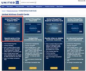 Credit cards to consider united mileageplus business card for Mileage plus business card