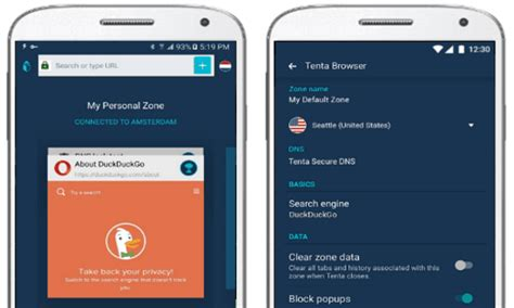 android private browser  vpn anonymous browsing